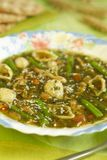 итальянский суп minestrone Стоковое фото RF