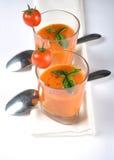 итальянский томат супа Стоковые Изображения RF