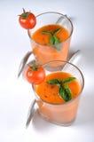 итальянский томат супа Стоковые Изображения