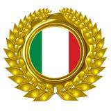 Итальянский флаг Стоковая Фотография RF