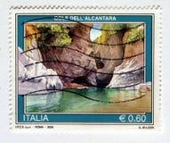 итальянский штемпель Стоковая Фотография RF