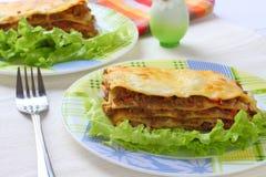 итальянский lasagna Стоковая Фотография