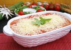итальянский lasagne Стоковое Фото