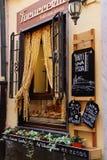 Итальянский Shoppe макаронных изделий стоковое фото rf