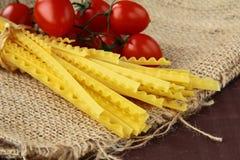 итальянское желание томата макаронных изделия Стоковая Фотография RF