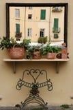 итальянское зеркало Стоковые Фотографии RF