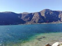 Итальянское озеро, Como стоковые фото