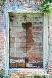 итальянское окно Стоковые Изображения RF