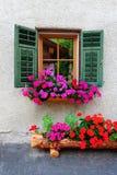 итальянское окно Стоковые Фотографии RF