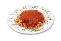 итальянское спагетти Стоковые Фото