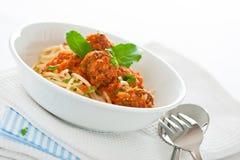 Итальянское спагетти Стоковое Изображение
