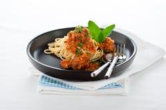 Итальянское спагетти Стоковые Изображения