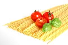 итальянское спагетти Стоковые Фотографии RF