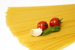 итальянское спагетти Стоковое Фото