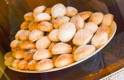 Итальянское точное печенье Стоковые Изображения