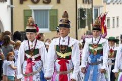 Итальянское фольклорное fest Стоковое фото RF
