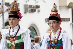 Итальянское фольклорное fest Стоковое Изображение