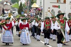 Итальянское фольклорное fest Стоковая Фотография RF