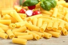 Итальянское macarone макаронных изделий Стоковое Фото