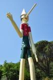 итальянское pinocchio marionette деревянное Стоковая Фотография RF
