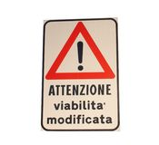 итальянское roadsign Стоковое Фото