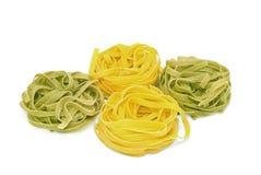 итальянское tagliatelle макаронных изделия Стоковые Фото