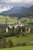 Италия, альт Адидже, Fiè am Sciliar, замок Presule Стоковая Фотография RF