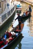 Италия, Венеция, перемещение Стоковая Фотография