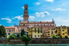 Италия, Верона, собор Стоковые Фото