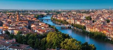 Италия, город Вероны Стоковое Изображение RF