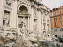 Италия, город Рима, Trevi Fontain Стоковое Изображение RF