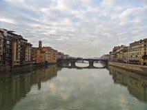 Италия, город Флоренса Стоковое фото RF
