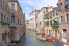 Италия Изображение ландшафта здания Венеции стоковая фотография rf