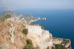 Италия Капри Стоковое Изображение RF
