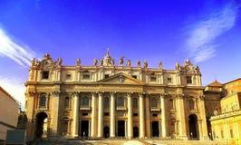 Италия, квадрат ` s Roma, Ватикана, St Peter и церковь Стоковое фото RF