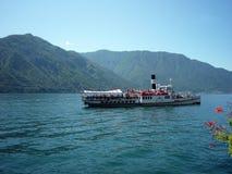 Италия, озеро Como, Lenno Стоковое Изображение RF