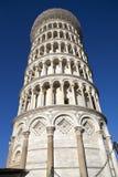 Италия Пиза полагаясь башня pisa Стоковое Фото