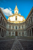 Италия, Рим, yves Святого собора, Sant'Ivo Стоковая Фотография RF