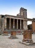 Италия руины pompey стоковое фото rf