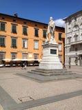 Италия, Тоскана, Лукка, городская площадь Стоковая Фотография RF