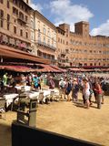 Италия, Тоскана, Сиена Стоковое фото RF