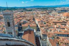 Италия, Флоренс, от Duomo Стоковое фото RF