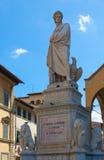 Италия Флоренция dante Стоковые Фото