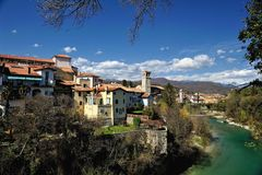 Италия Cividale del Friuli Стоковое Фото