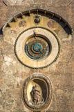 Италия: Mantova, башня с часами Стоковая Фотография