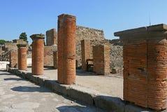 Италия pompeii Стоковое Фото