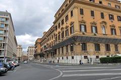 Италия rome Взгляд на Di Roma Soprintendenza Archeologica Стоковые Изображения RF