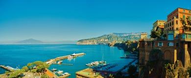 Италия sorrento Европейский курорт Стоковые Фотографии RF