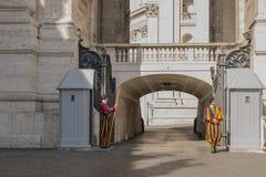 Италия vatican Резиденция Папы Стоковое Изображение