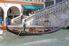 Италия venice гондолы Стоковые Фото